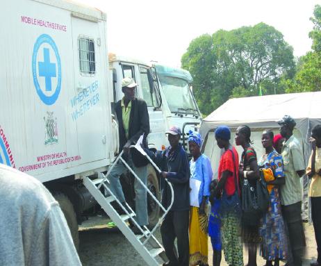 Mobile hospitals in Zambezi – Zambia Daily Mail