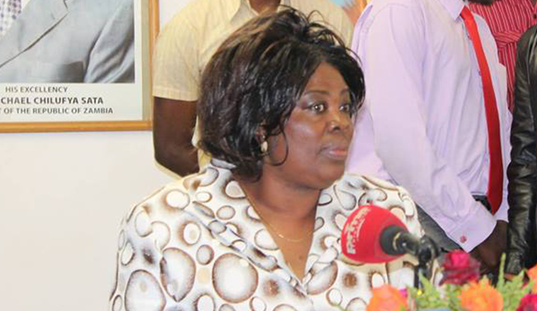 Kapata vows to protect her Forest 27 plot