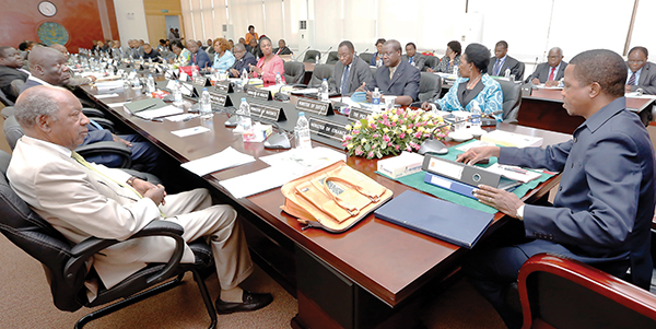 Beefed Up Cabinet Meets Zambia Daily Mail