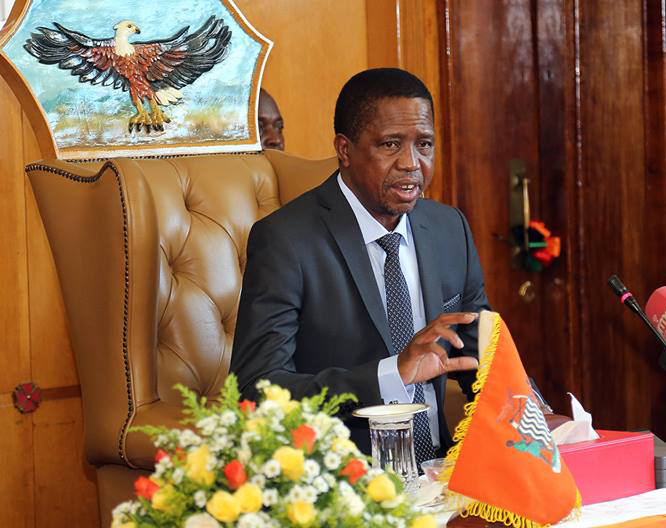 Lungu to start airport project