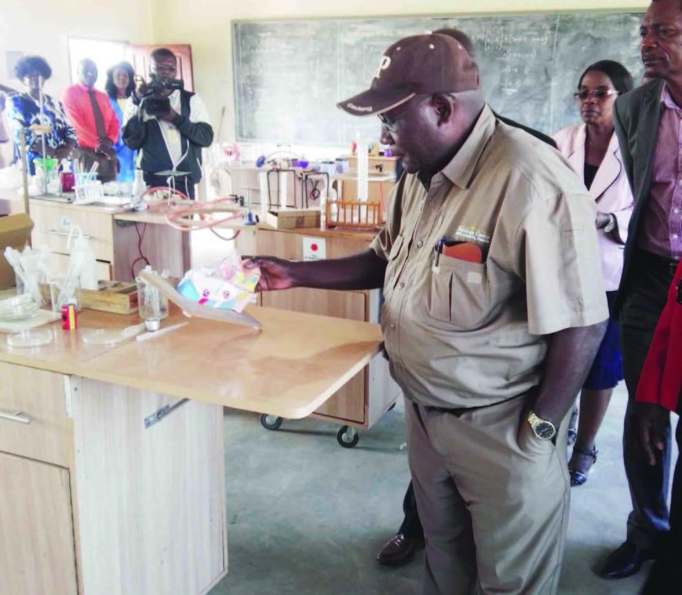 Wanchinga, Teachers Confer On Tour Of Duty