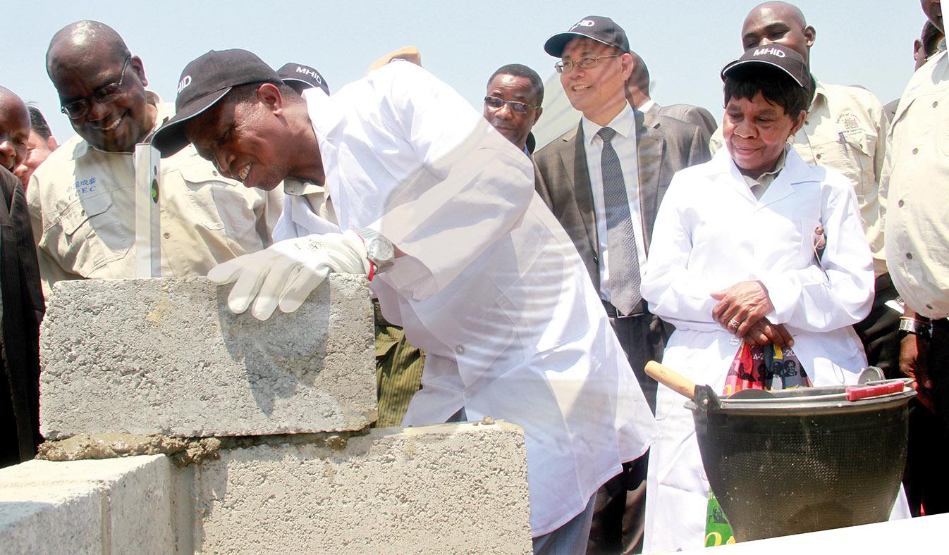 Lungu fulfils pledge