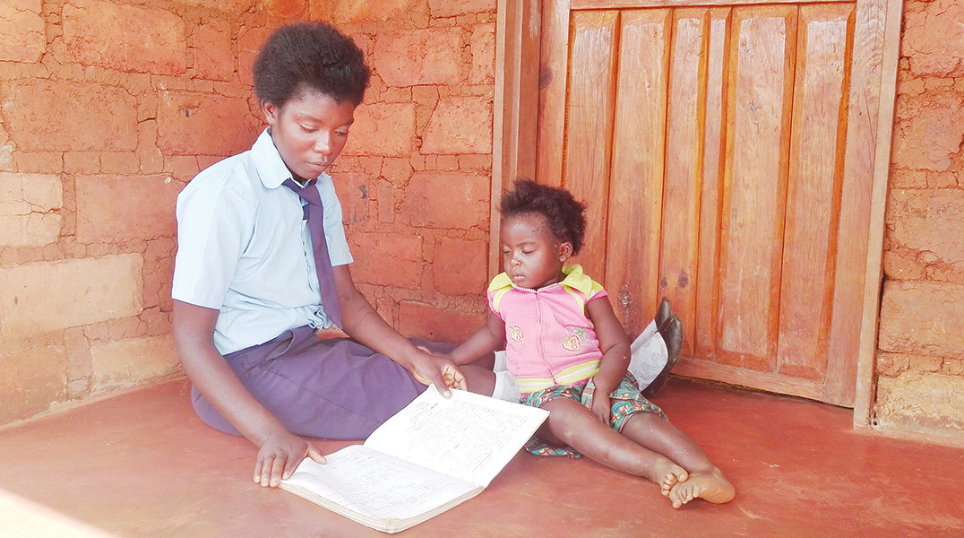 Studying beside your child