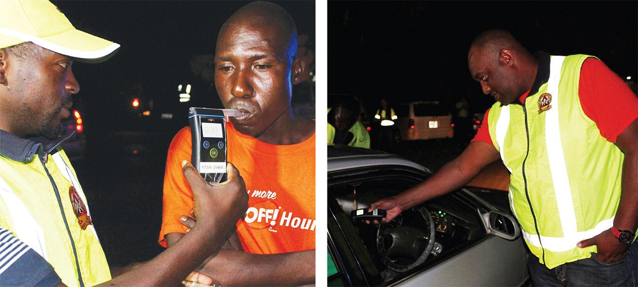 Impromptu operation catches drunk drivers