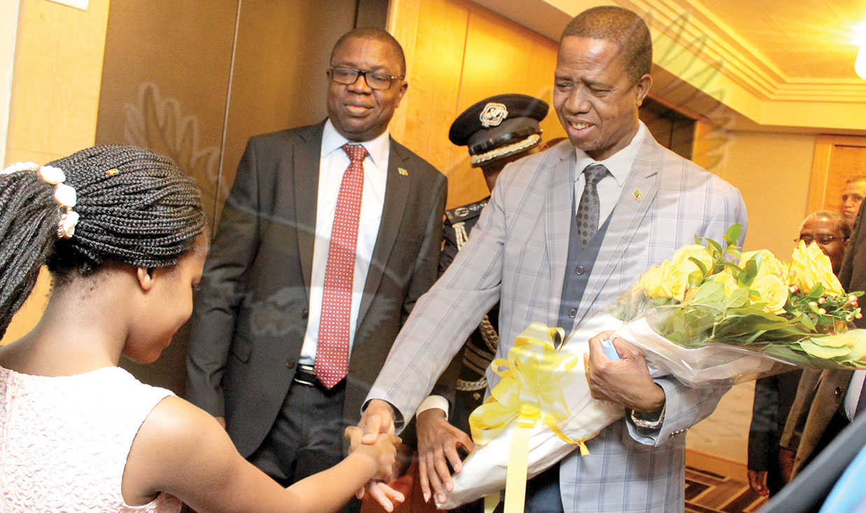 Lungu joins global leaders at UN