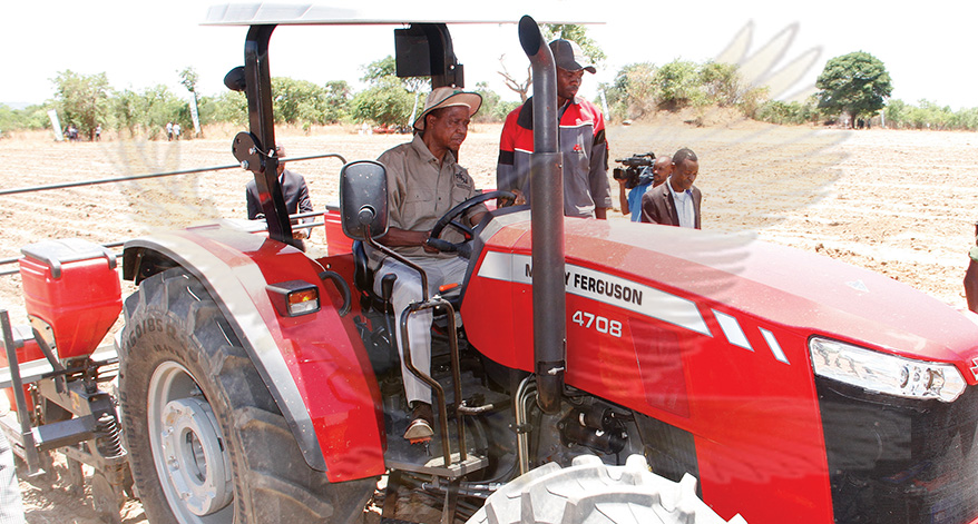 Drop the hoe, Lungu urges peasant farmers