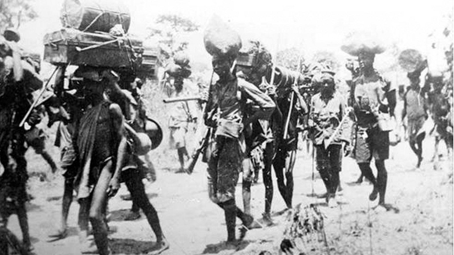 Untold story of African 'Tenga Tenga' in WWI