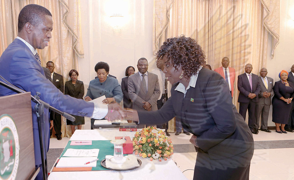 Prove critics wrong, Lungu tells women