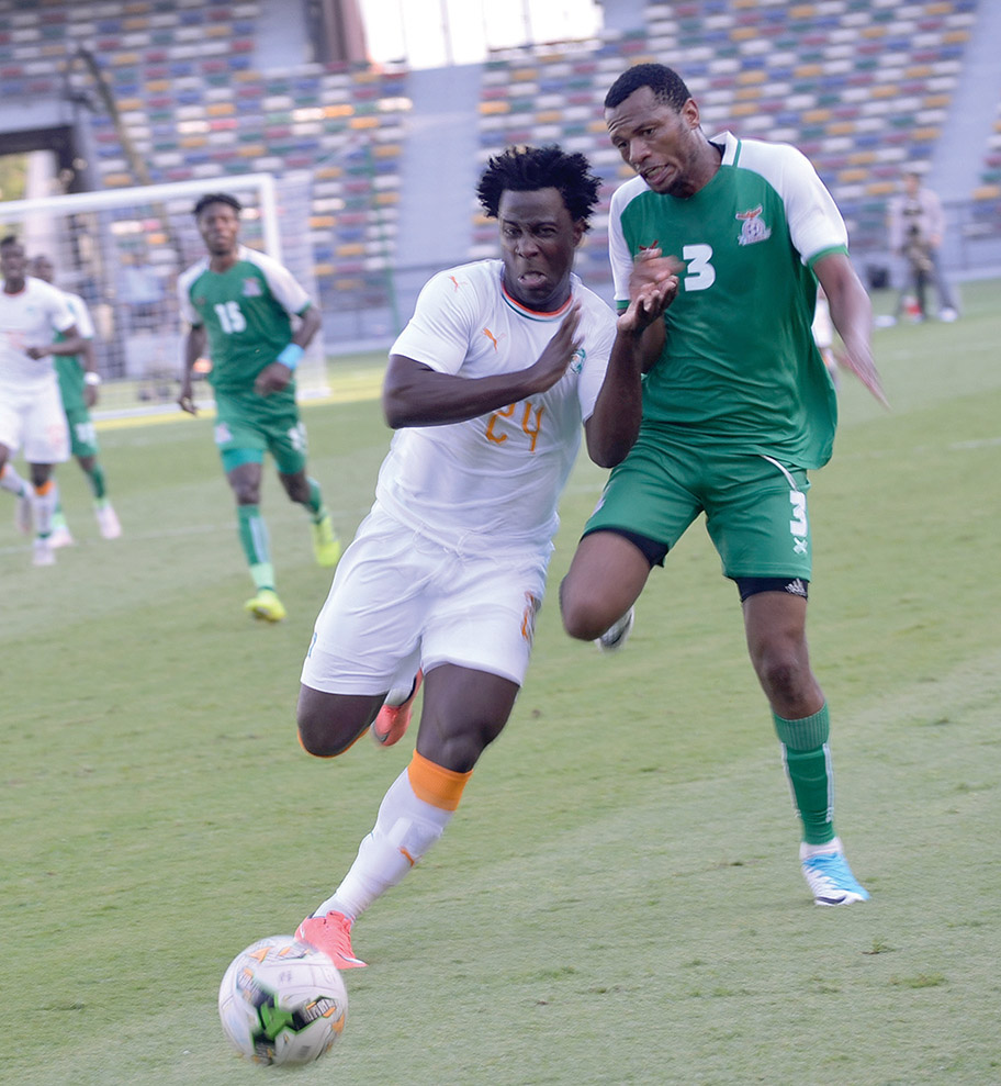Ivory Coast crush Chipolopolo 4-1 in friendly