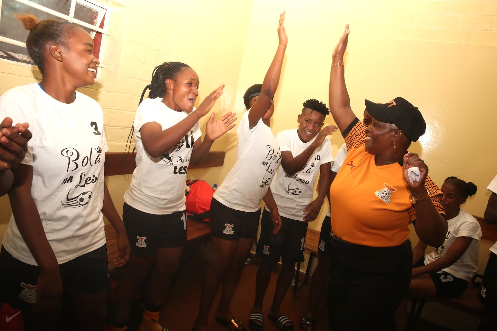 First Lady boosts Shepolopolo
