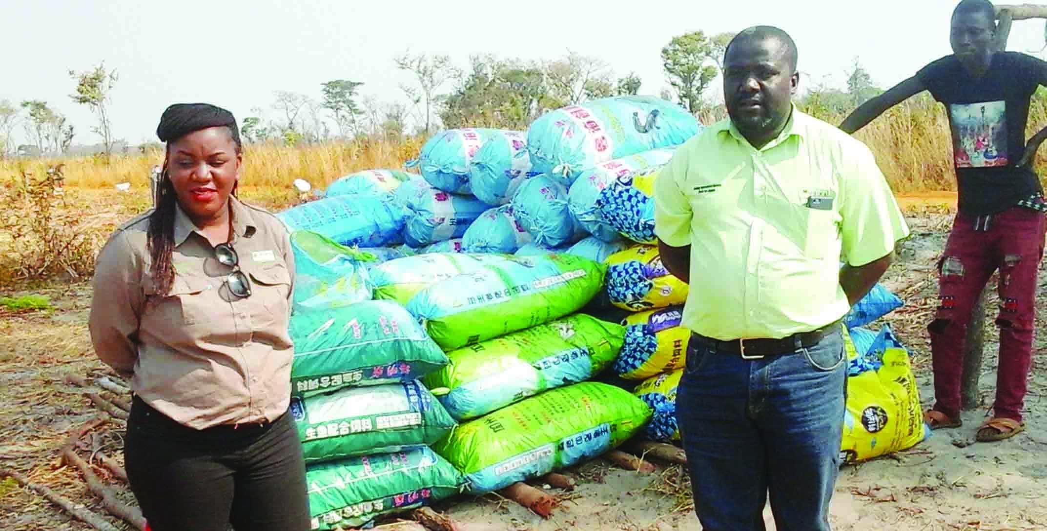 Cassava farmers in cash booster